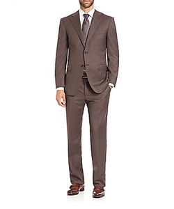 Canali | Plaid Wool Suit