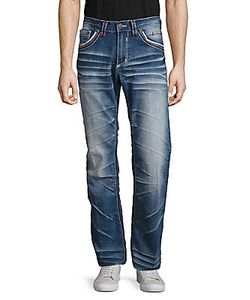 Affliction | Five-Pocket Whiskered Jeans