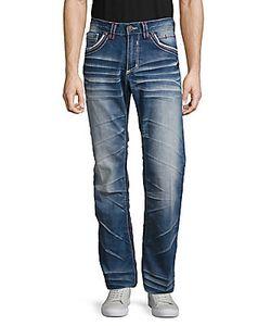 Affliction | Five-Pocket Whiskered Jeans