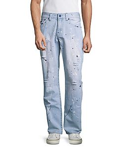 True Religion | Straight-Fit Distressed Jeans