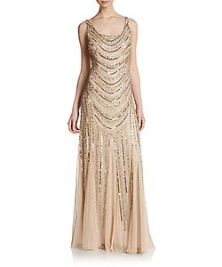 Adrianna Papell | Embellished Curve Gown