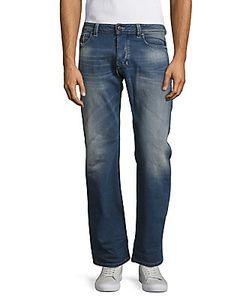 Diesel   Larkee Faded Five-Pocket Style Pants