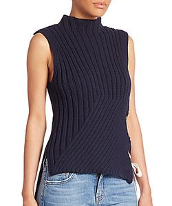 Derek Lam 10 Crosby | Ribbed Sleeveless Sweater