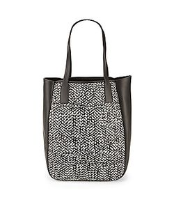 Derek Lam 10 Crosby   Bond Woven Leather Tote Bag