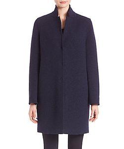 Army Yves Salomon   Virgin Wool Cocoon Coat