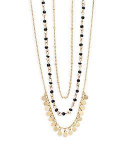 Noir   Three-Layer Necklace