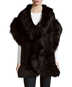Yves Salomon | M Fox Finnish Raccoon Fur Scarf