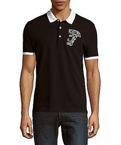 Canali | Spread Collar Cotton Polo