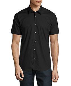 John Varvatos | Modern Fit Short Sleeve Button-Up Shirt