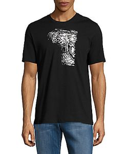 Versace Collection | Graphic Front Cotton Tee