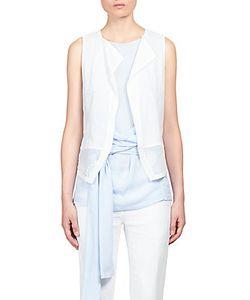 Ann Demeulemeester   Paneled Waistcoat Vest