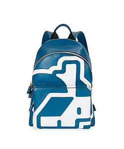 Anya Hindmarch | Abstract Printed Leather Backpack