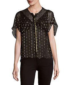 Zadig & Voltaire | Tonia Ruffled Sheer Shirt