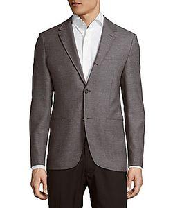 John Varvatos | Notch-Lapel Textured Jacket