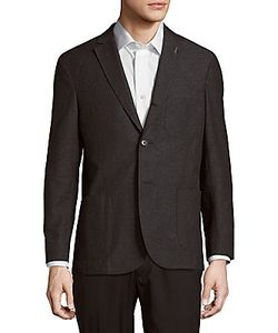 Michael Bastian | Wool Cotton-Blend Jacket