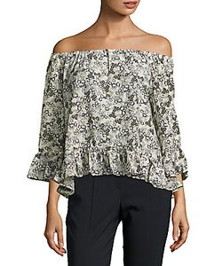 Sanctuary | Julia Printed Off-The-Shoulder Blouse