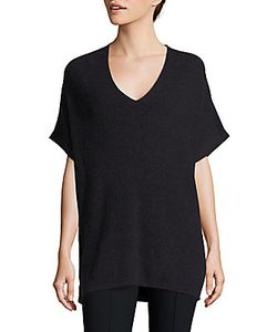 Vince | Elbow-Length Sleeve Ribbed Tunic