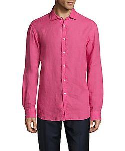 Ralph Lauren | Solid Linen Shirt