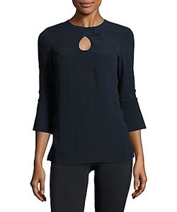 Derek Lam | Solid Cutout Top