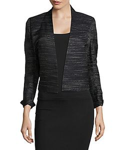 Akris | Textured Open-Front Jacket