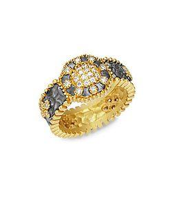 Freida Rothman | 14k Plated Deco Ring