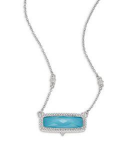 Judith Ripka | La Petite Sterling Pendant Necklace