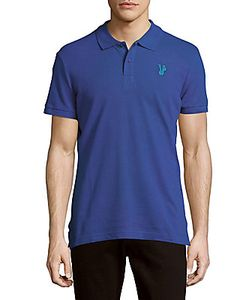 Versace | Textured Cotton Polo