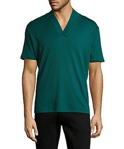 Emporio Armani | Solid Cotton Silk Tee