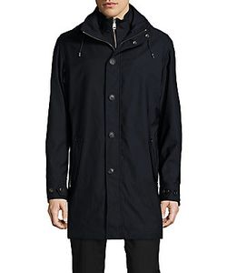 Sergio Rossi | Two-Piece Hooded Jacket
