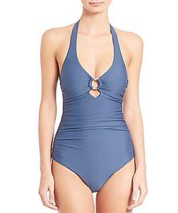 Heidi Klein | One-Piece Halter Swimsuit