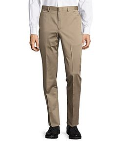 Michael Kors | Cotton-Blend Monochromatic Pants