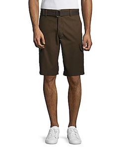 Weatherproof | Textured Cotton Shorts
