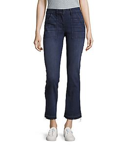 3X1 | Frayed Bootcut Jeans