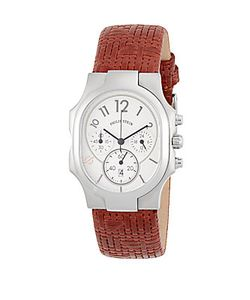 Philip Stein   Classic Rectangle Strap Chronograph Watch