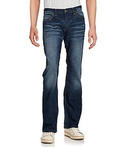 Affliction | Whiskered Bootcut Jeans