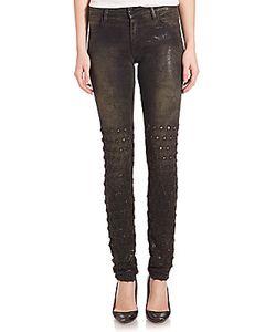 Brockenbow   Dark Wash Skinny Jeans