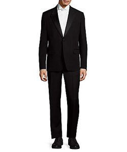 Versace | Wool Textured Suit