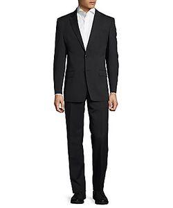 Versace | Tonal Pinstriped Suit