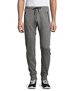 The Kooples | Heathered Cotton Jogger Pants