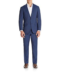 Boss Hugo Boss | The James Regular-Fit Tonal Pinstriped Virgin Wool Suit