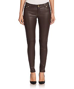 Michael Kors | Coated Skinny Zip Pants