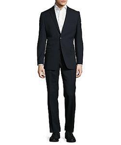 Versace | Striped Woolen Suit