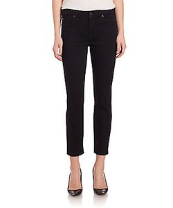 7 For All Mankind | Kimmie Cropped Slim Illusion Skinny Jeans
