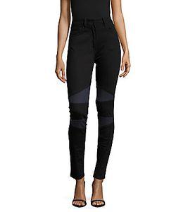 Sandro | Paneled Skinny-Fit Jeans