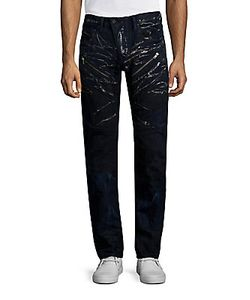 Prps | Straight-Fit Moto Jeans