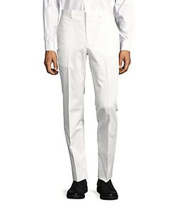 Michael Kors | Cotton-Blend Solid Pants