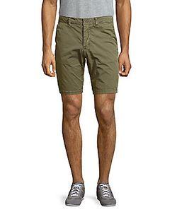 Jetlag   Solid Cotton-Blend Four-Pocket Shorts