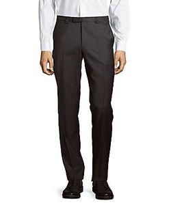 Hugo - Hugo Boss | Wool-Blend Straight-Leg Pants