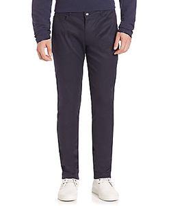 Ovadia & Sons | Five-Pocket Cotton-Blend Stretch Pants