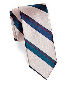 Saks Fifth Avenue | Stripe Silk Tie